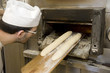 panadero trabajando