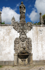 Fountain in Bom Jesus do Monte Sanctuary (Braga - Portugal)