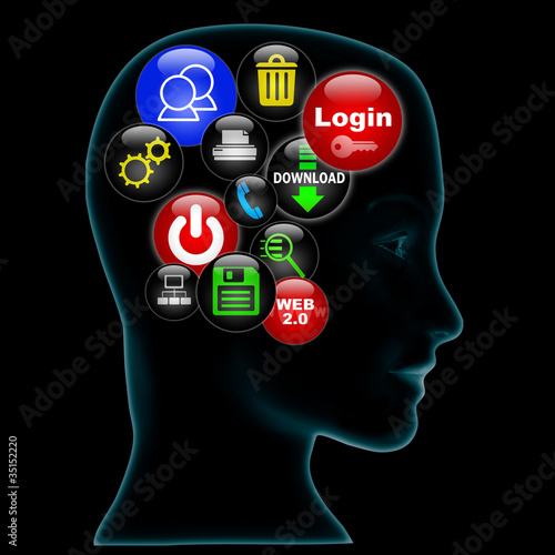Computer in head