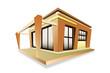 Home modern style plan hot