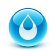 icône goutte eau / water drop icon