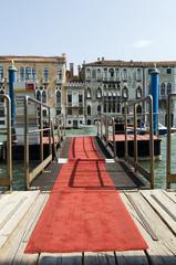 Roter Teppich in Venedig - Biennale
