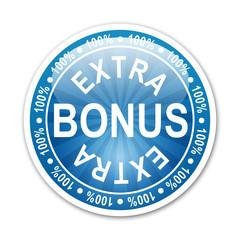 Pegatina redonda 100% EXTRA BONUS
