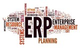 ERP system in word tag cloud