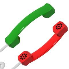 Cornette telefoniche affacciate