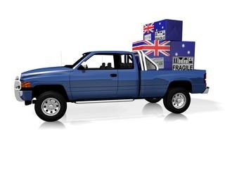 SPEDIZIONE PICK UP AUSTRALIA