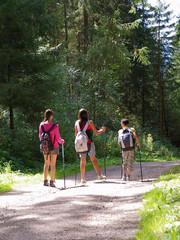 kids hiking trip