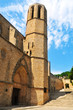 Church of Monastery of Pedralbes in Barcelona, Spain