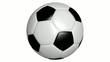 Fußball Animation drehend