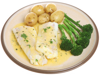 Baked Haddock with Vegetables