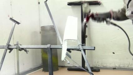 Verniciare a spruzzo-spray paint