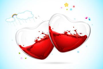 Spalshing Heart