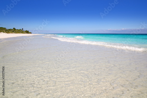 Foto op Plexiglas Indonesië beach paradise white sand turquoise Tulum