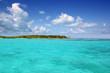Contoy island palm beach Mexico nature reserve