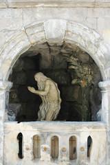 St. Yura Cathedral - sculpture St.Onufriy