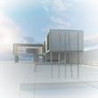 Exterior blueprint