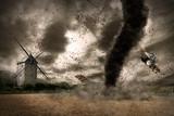Fototapeta sztorm - huraganu - Ogólny widok