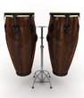 Leinwanddruck Bild - Conga drums