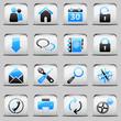 button White_blue Web