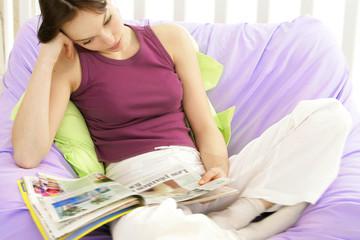 Femme - Détente et relaxation