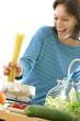 Cuisine - Préparation des spaghettis
