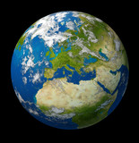 Planet Earth featuring Europe and European union