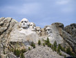 Mount Rushmore with faces of American Presidents Dakota