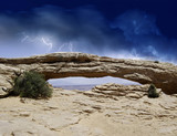 Nature of Arches National Park poster