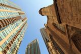 Urban scenics in Chicago poster