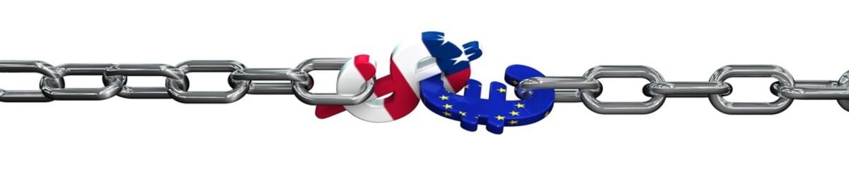 Dollar und Euro im Kampf  02