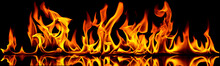 "Постер, картина, фотообои ""Fire and flames."""