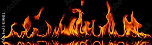 In de dag Vuur / Vlam Fire and flames.
