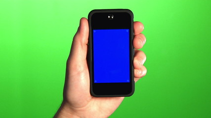 Blank Video Chat Mobile Phone