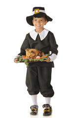 Happy Thanksgiving Pilgrim Boy