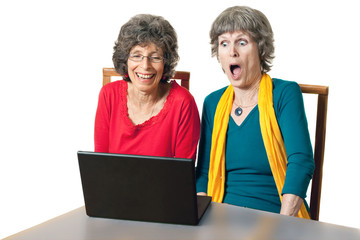 Senior citizens, on the internet - Shocking website
