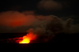 volcano on big island / hawaii