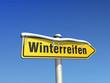 Wegweiser Winterreifen