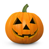 Halloween - carved pumpkin