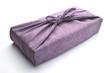 風呂敷包み お歳暮 お中元 紫 白バック
