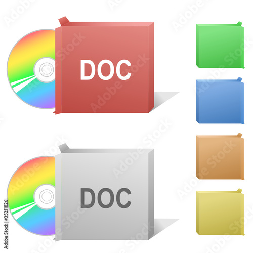 Doc. Box with compact disc.