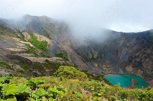 Kostaryka, wulkan Irazu