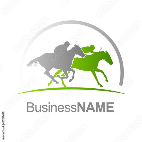 Logo course hippique