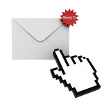 E mail notification new message