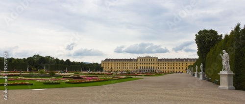 Schönbrunn Palace Panoramic View