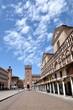 Piazza Trento e Trieste in Ferrara, Italy