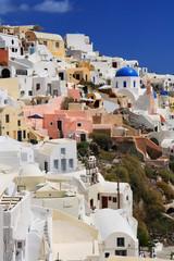 White houses of Oia