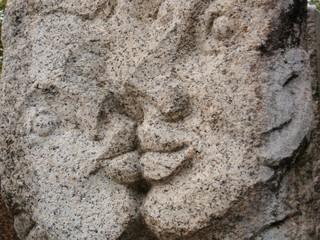Küssende Skulptur / Kuss Skulptur