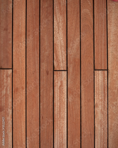 natural teak wood deck background