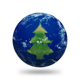 Earth Christmas Tree