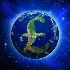 British Pound Earth